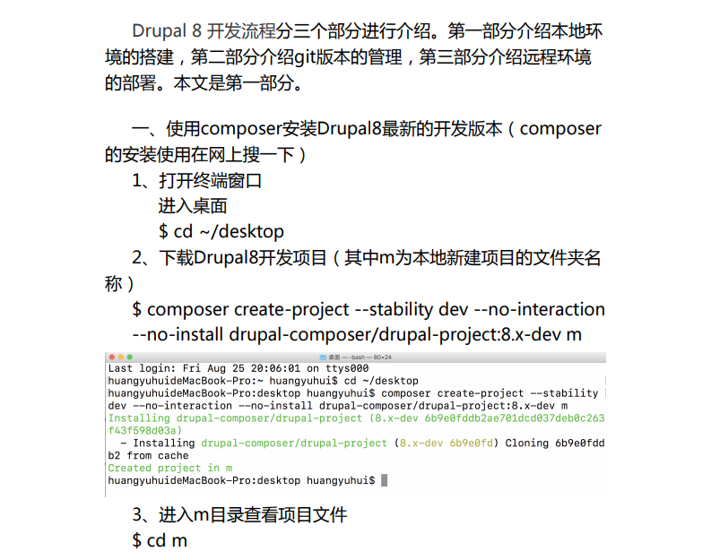 Drupal 8 local development environment to build.png